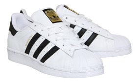 adidas superstar negras rayas blancas