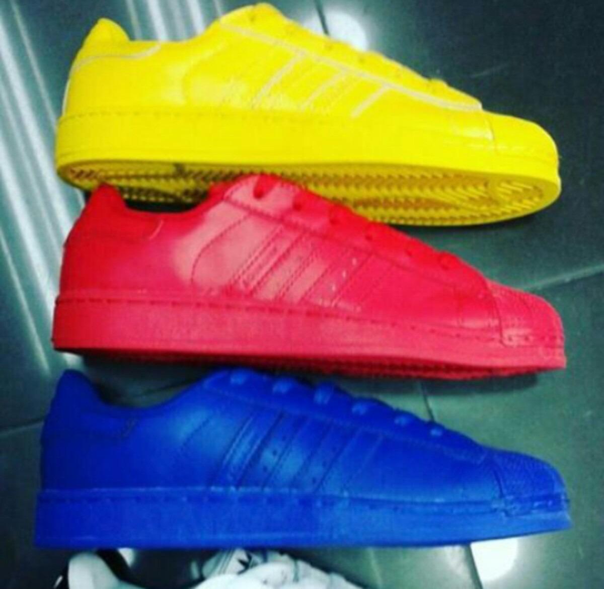 zapatos adidas superstar colores