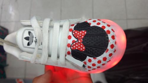 adidas superstar con luz led recargable