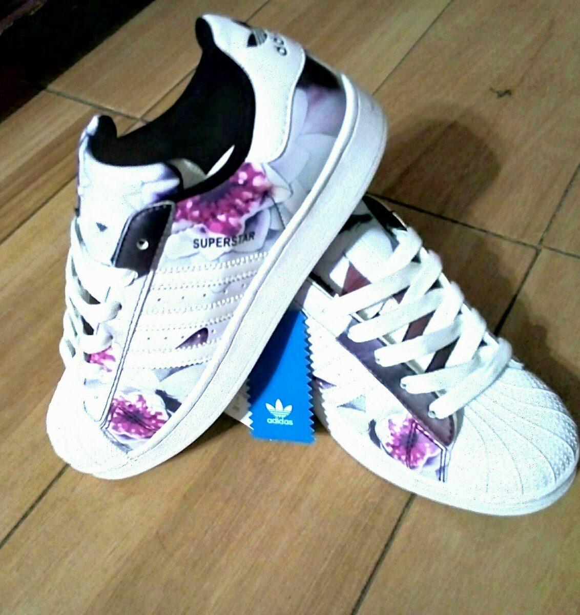 cheap for discount 5ae11 618d3 Concha Concha Mujer 1 Floral 450 Superstar 00 Adidas Originales Originales  Nuevos pTvaxRWwq