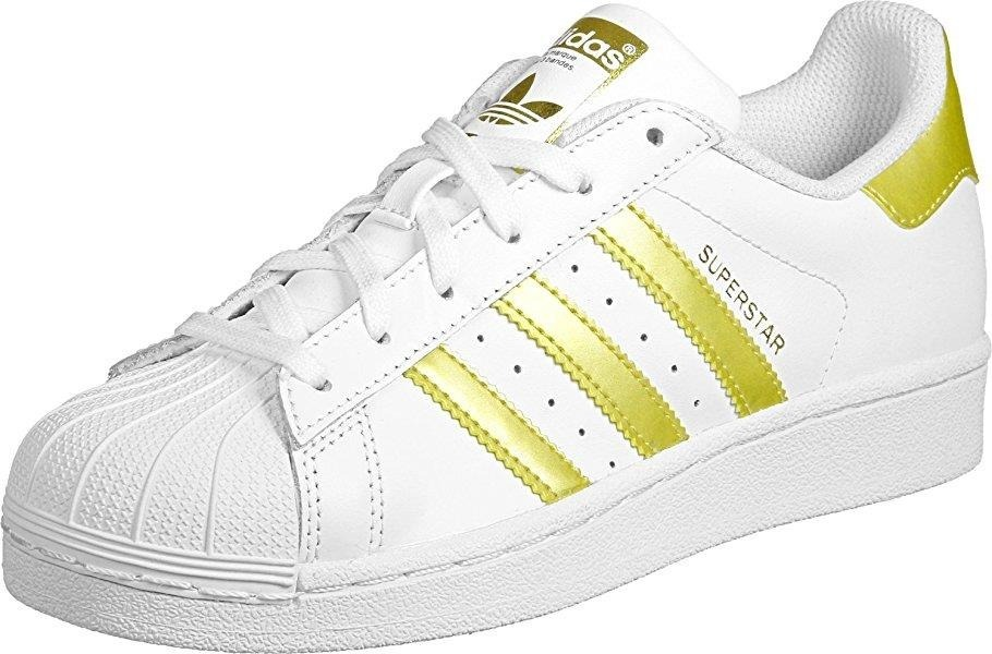 sports shoes 73e58 5d72c ... get adidas súperstar concha original blanco dorado envio gratis.  cargando zoom. be6ec 91691