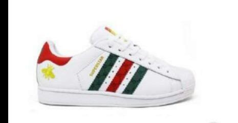 9897ff6270 adidas Superstar De Couro Original Feminino 34 Ao 39 - R  249