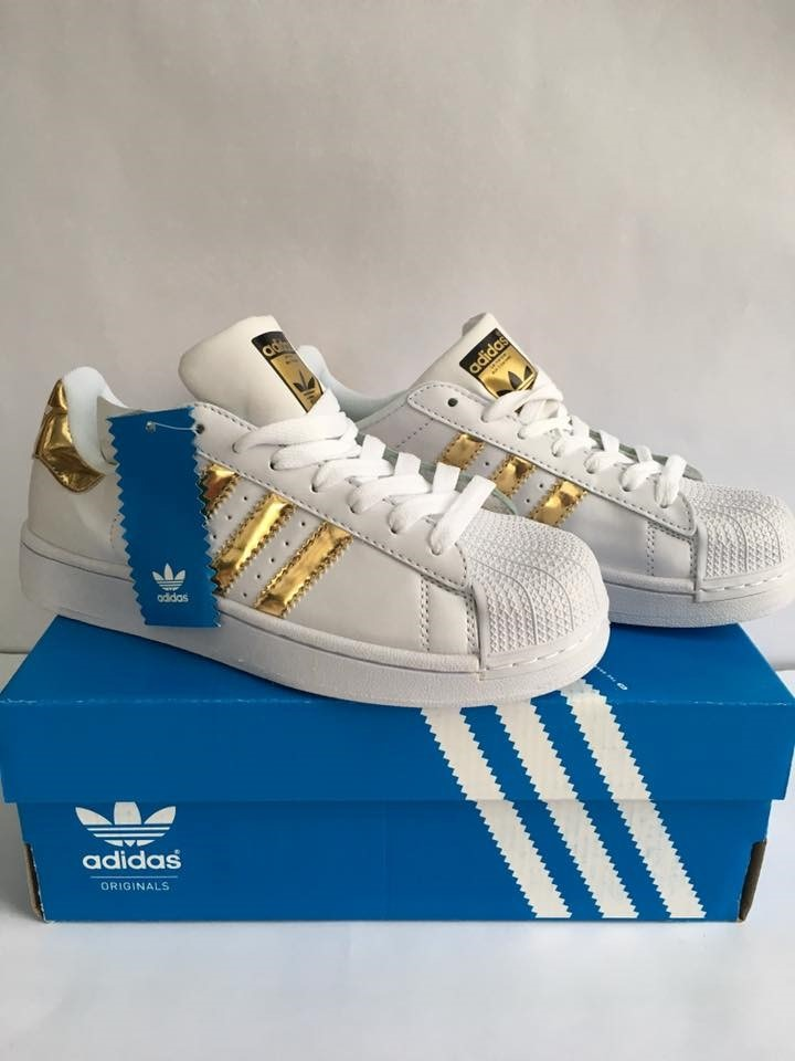 adidas superstar dorados
