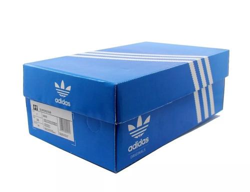 694c747f4b1 adidas Superstar Foundation Feminino Original Com Caixa - R  229