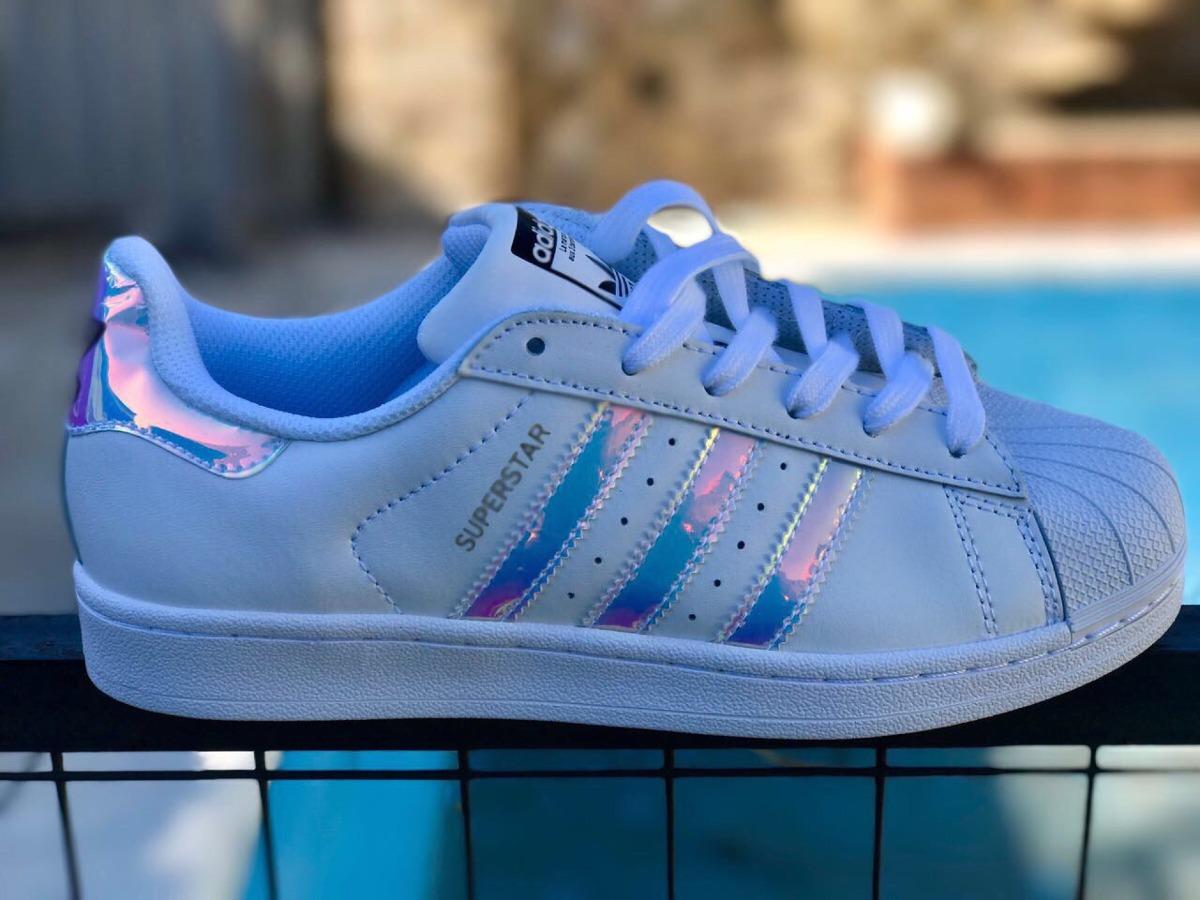 Blanco Reduced 944b3 1a5f2 Superstar Hologram Adidas y80OwvmNn