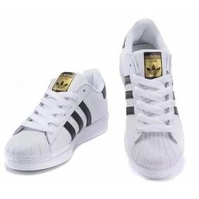 new concept c1110 e0193 Tenis Adidas Superstar Feminino Dourado Brilhante - Calçados, Roupas e  Bolsas com o Melhores Preços no Mercado Livre Brasil