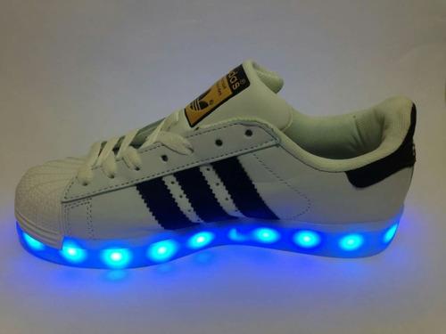 adidas superstar con luces
