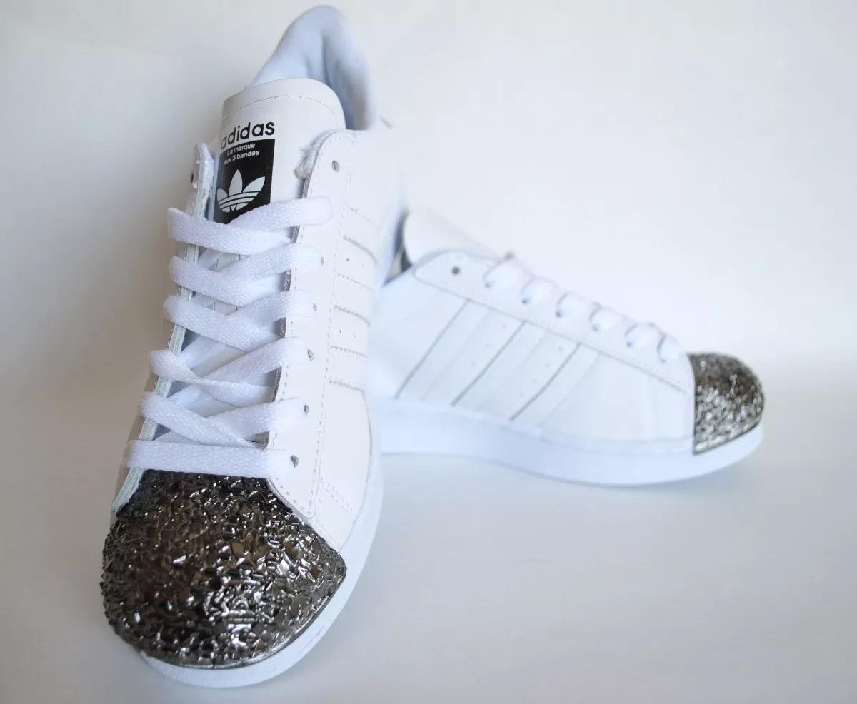 zapatillas adidas superstar mujer plata