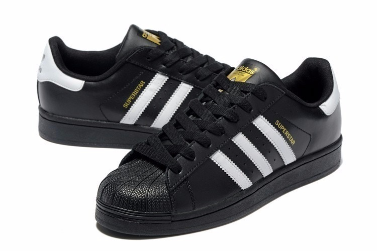 outlet store 5e59c abcc8 adidas superstar negro
