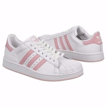 official photos b0199 7619c adidas superstar original 100 % de eeuu blanca rosa t41