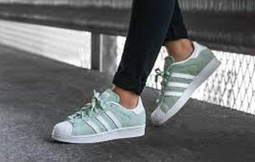adidas superstar color verde
