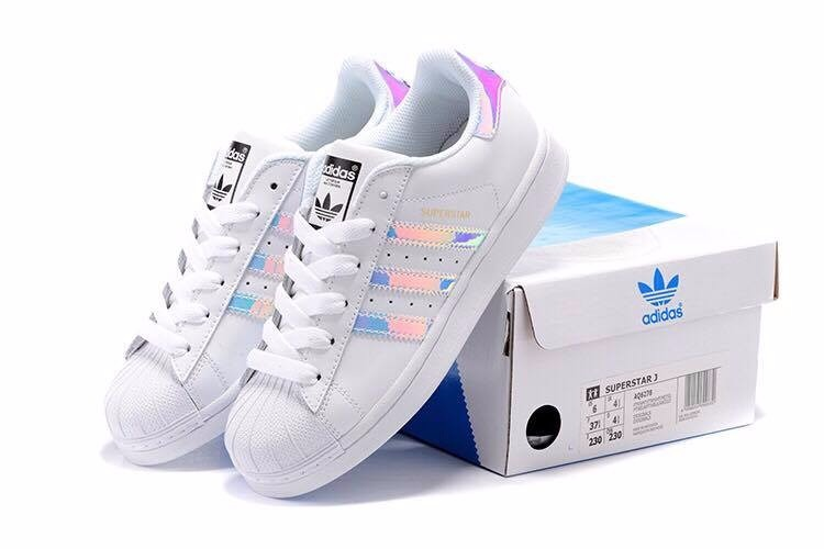 low priced 4b692 8b8cd adidas superstar originales importadas holograma rosado
