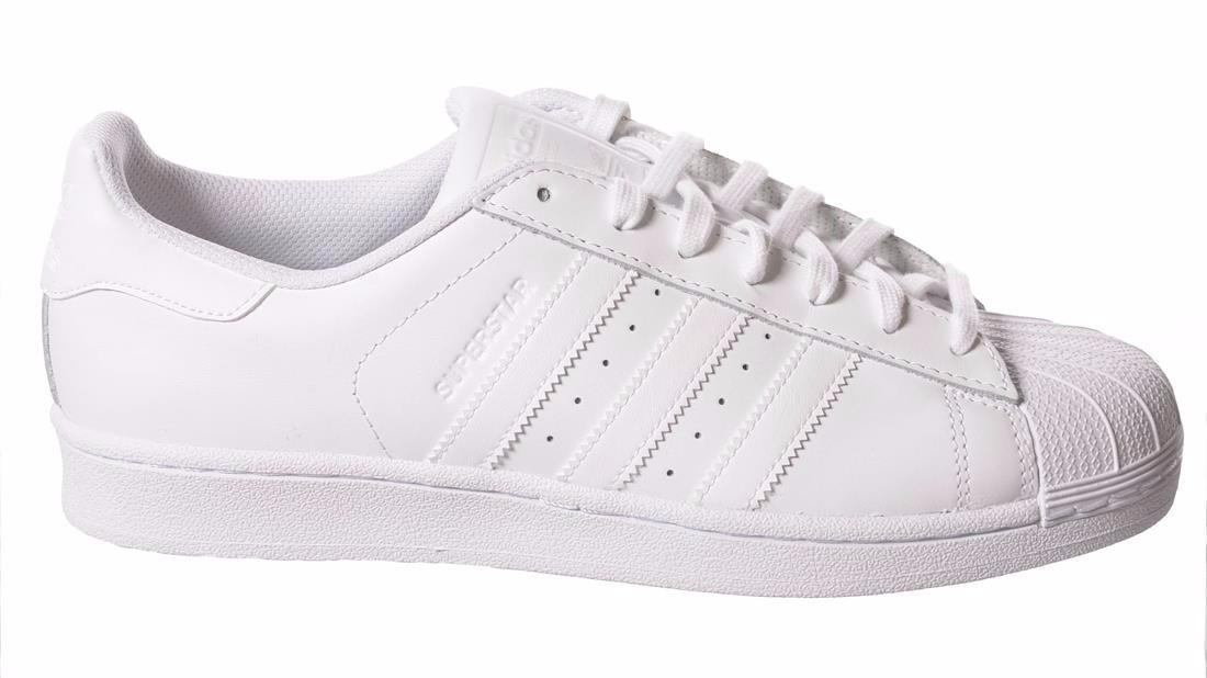 adidas superstar slip on blancas