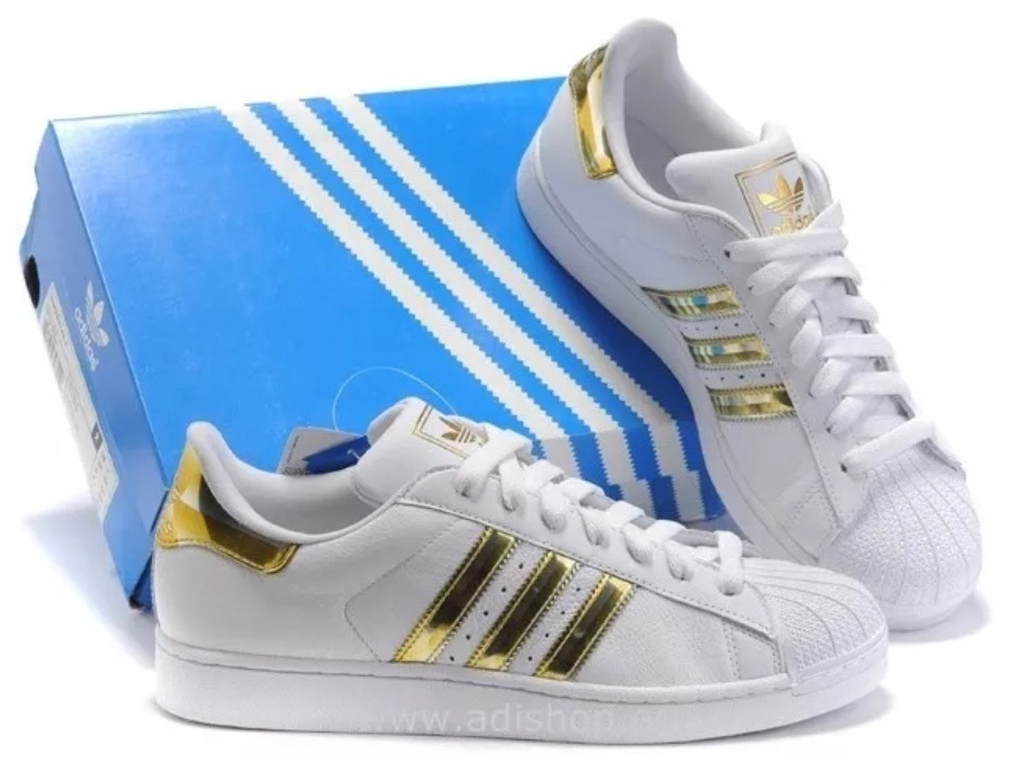 adidas superstar oro