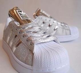 adidas superstar con glitter