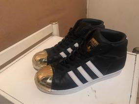 d706c1f907 Zapatillas Adidas Superstar Negras Con Punta Negra - Zapatillas ...