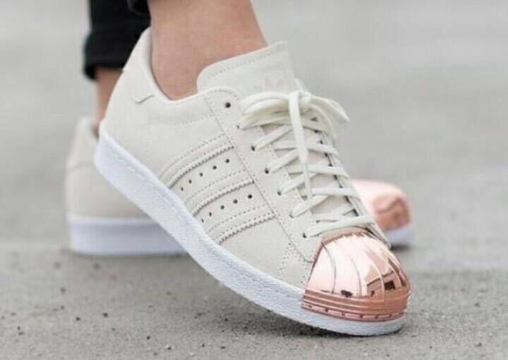 adidas superstar metalizado