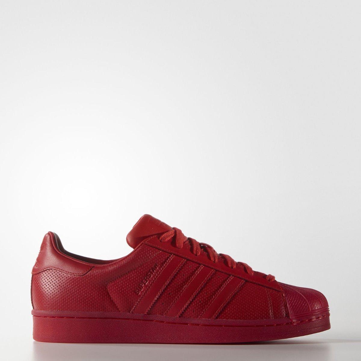 adidas Superstar Rojas + Envio Gratis