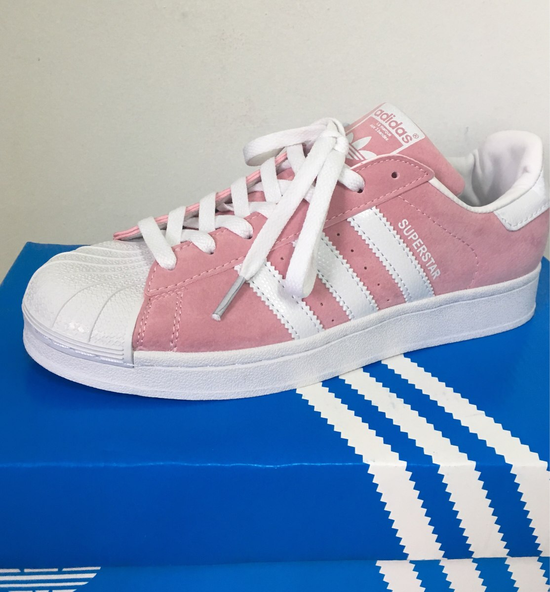 huge selection of 4a618 4abff adidas superstar rosa gamuza !! vte lopez. Cargando zoom.