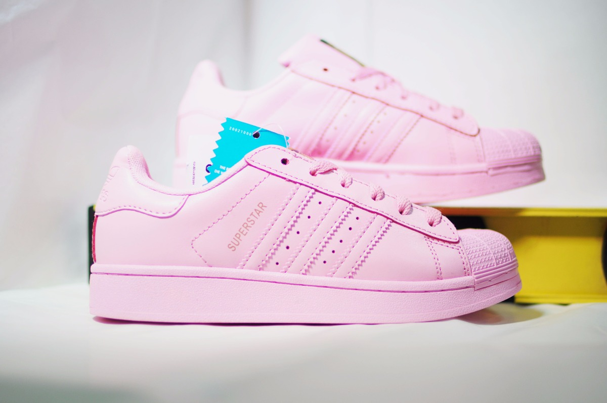 superstars rosas adidas