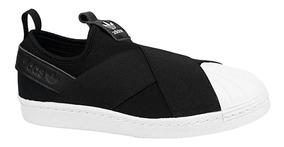 huge selection of 9d62a 46122 adidas Superstar Slip On Black-w Originals Stock 36 37 38