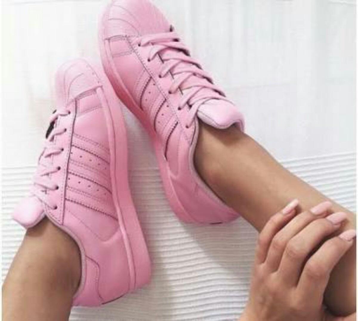 8a89a07c35 adidas superstar color rosa claro