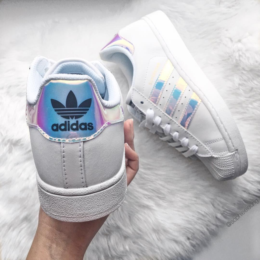 heet adidas Superstar Tornasol Dama Hermosas adidas