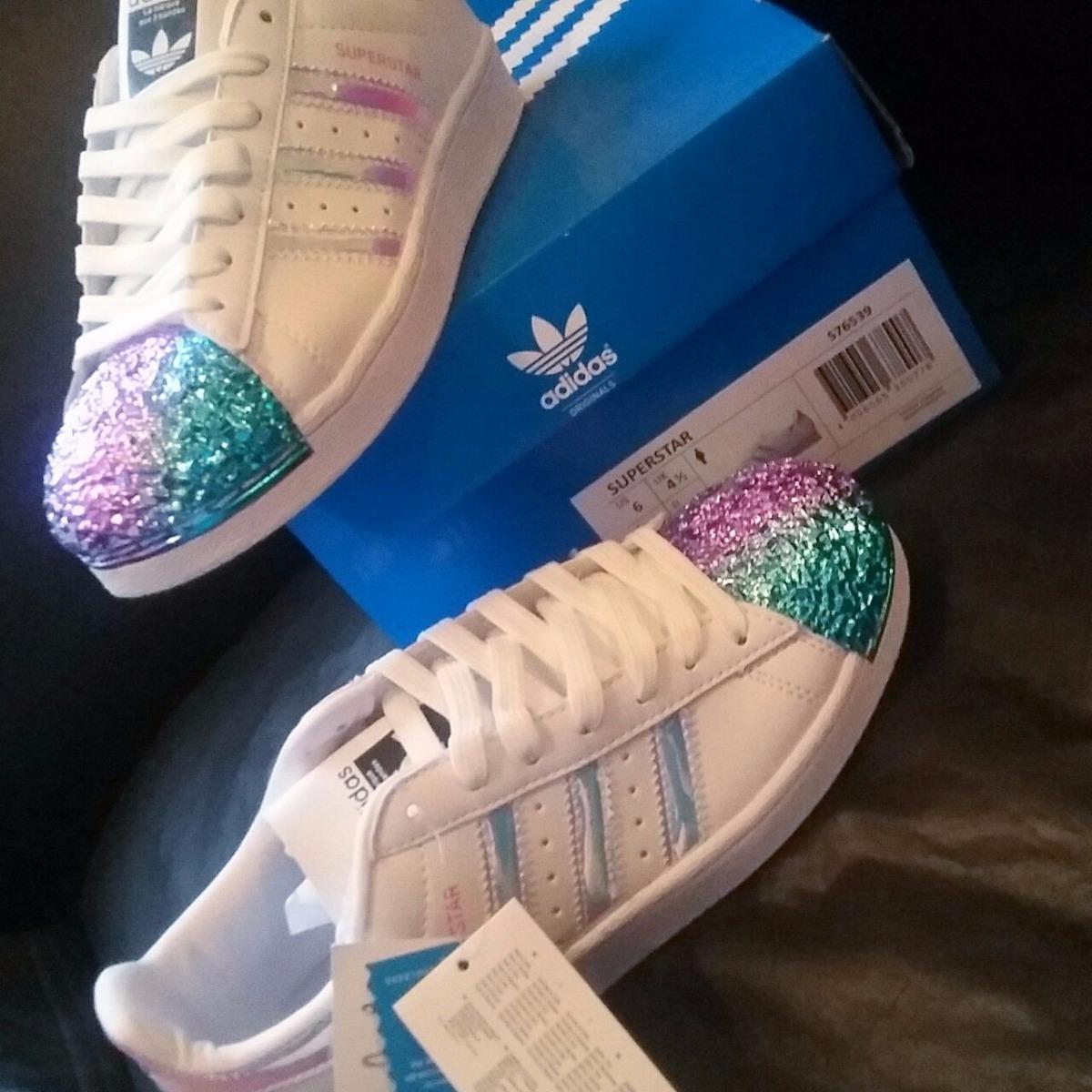 adidas punta glitter