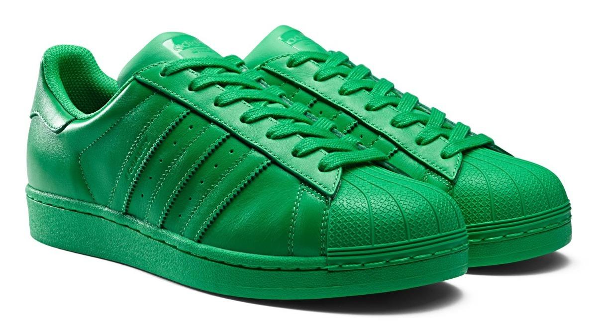 adidas superstar verde