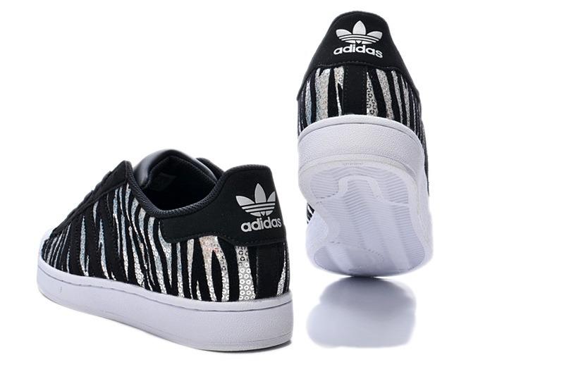 huge sale 4799e 48a23 ... blanco negro  adidas superstar zebra negro plata envio gratis. cargando  zoom.