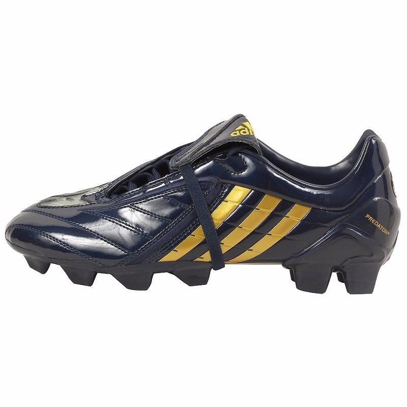 new concept e735b 2c9fb adidas tacos futbol predator absolion fg negro y oro beckham. Cargando zoom.