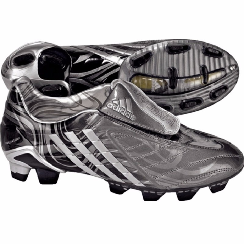 the best attitude 30dae 3aa61 ... sale adidas tacos futbol predator powerswerve fg plata beckham.  cargando zoom. 6b893 af99a