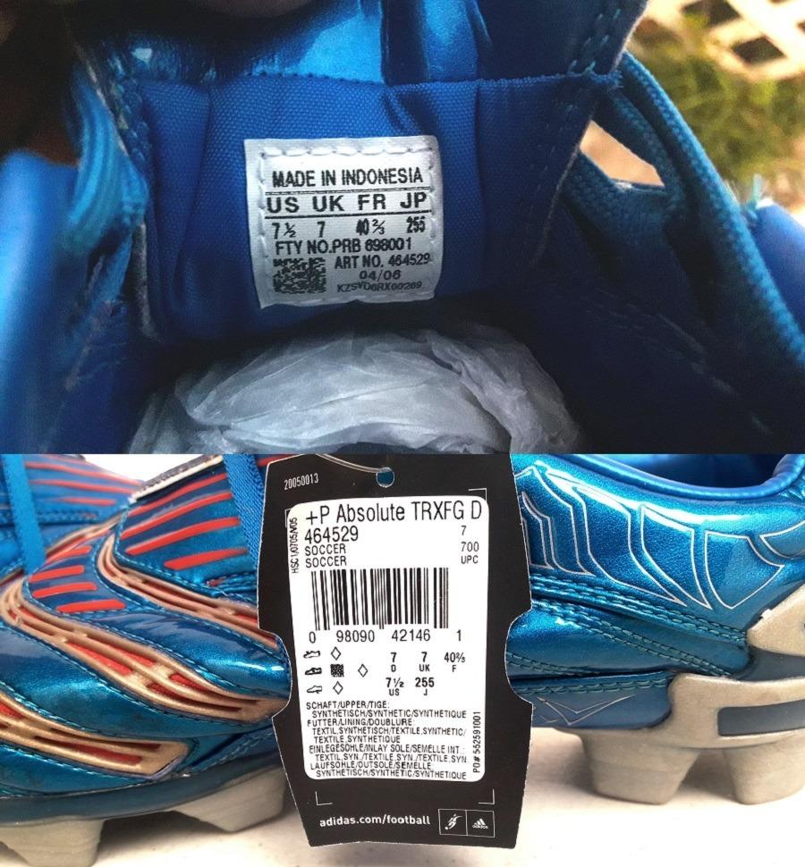 half off 40d8e b49cb adidas tacos predator absolute trx fg beckham azul plata gym. Cargando zoom.