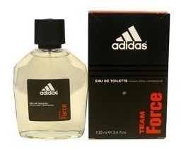 adidas team force 50ml eau toillete edt masc original.