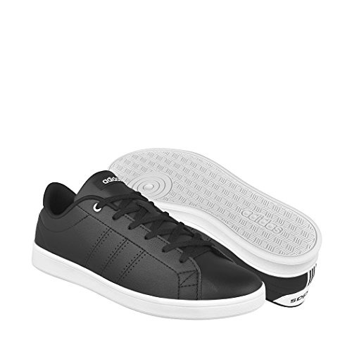 adidas Tenis Advantage Clean Qt Para Mujer, Color Negro, Ta
