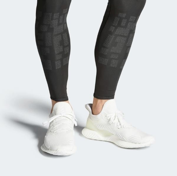 brand new 319d0 fefc9 adidas tenis alphabounce beyond blanco hombre mujer running · adidas tenis  hombre