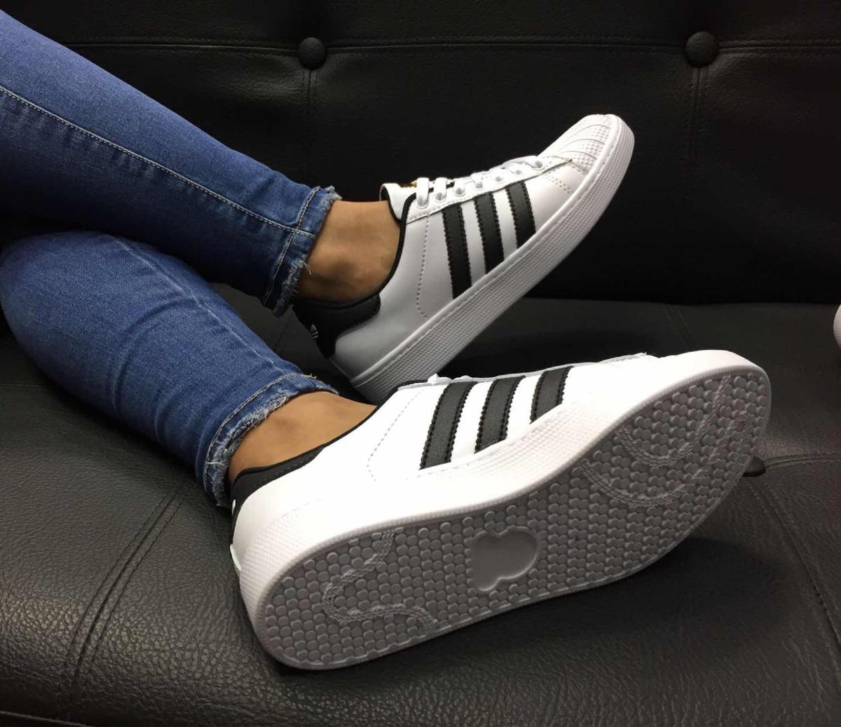 Súper Mujer Deportivo Adidas Dama 000 Zapato Tenis 72 Star En 6xqqSw7Ad