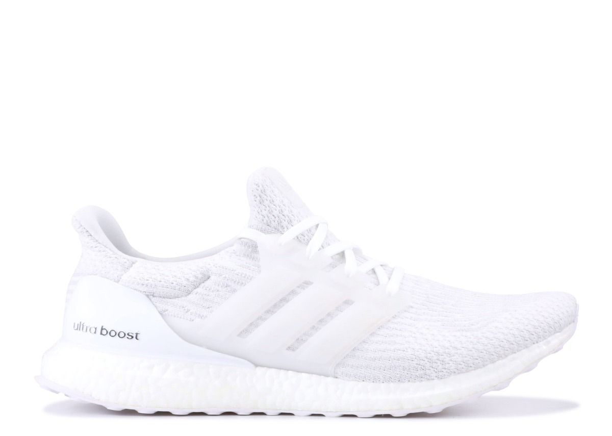 best loved 2f1be 9de5a adidas Ultraboost 3.0 Triple White Ultra Boost 38 Sem Juros