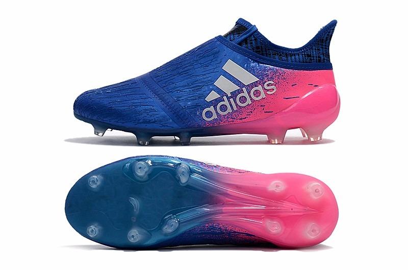 new style c1070 2f3e6 adidas x 16 purechaos fg ag azul y rosa entrega inmediata. Cargando zoom.