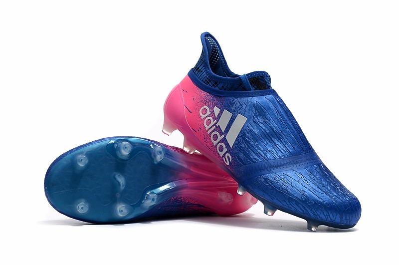 adidas x 16 purechaos fg ag azul y rosa entrega inmediata. Cargando zoom. e050f1e59d571