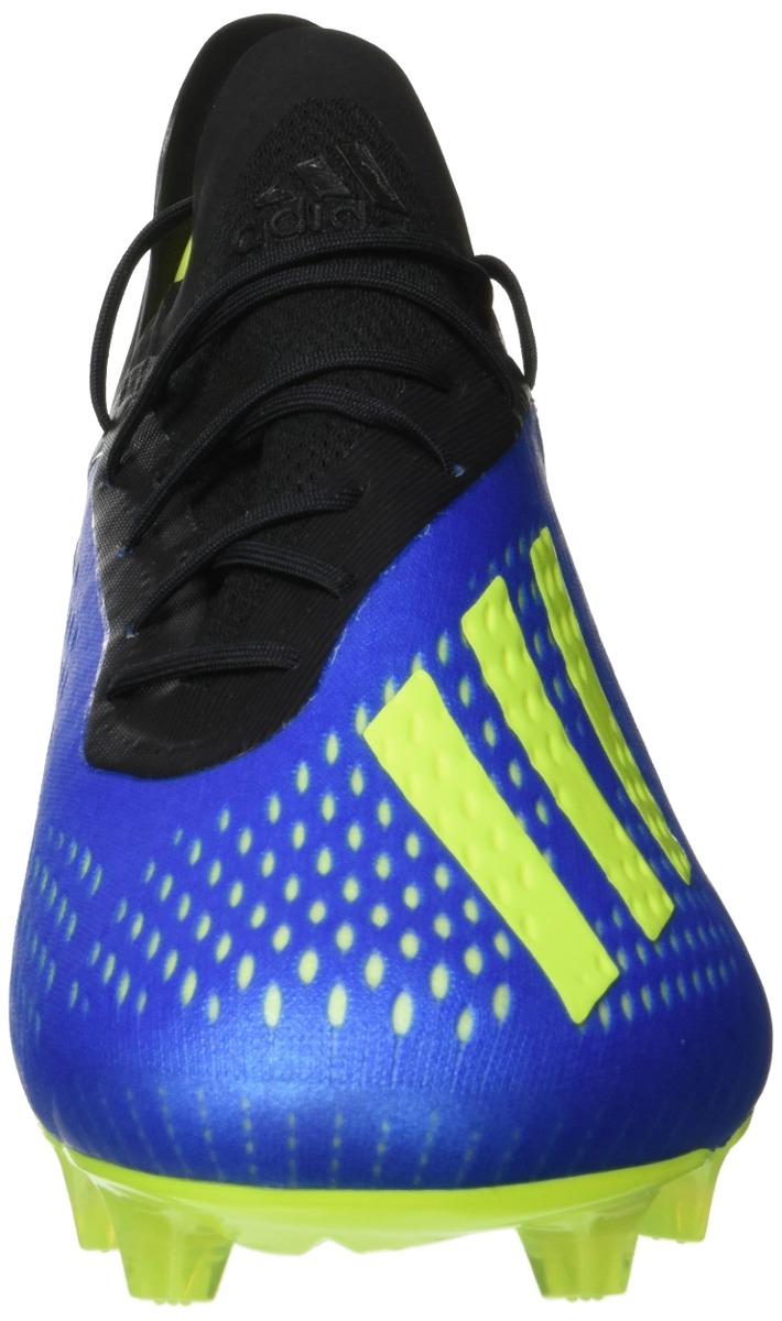 sports shoes a4ea9 c7b29 adidas x 18 1 fg botas de fútbol adultos azul azul... Cargando zoom.