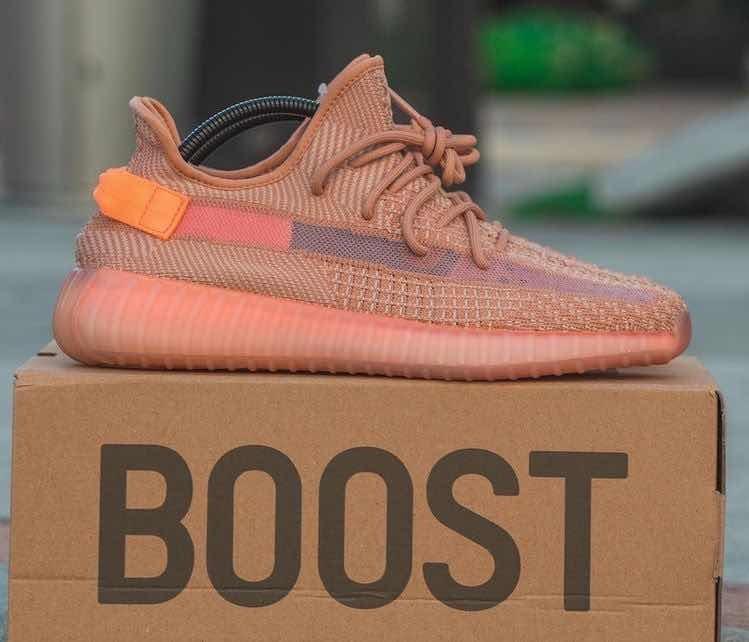 adidas Yeezy Boost 350 V2 Clay En Su Caja Original