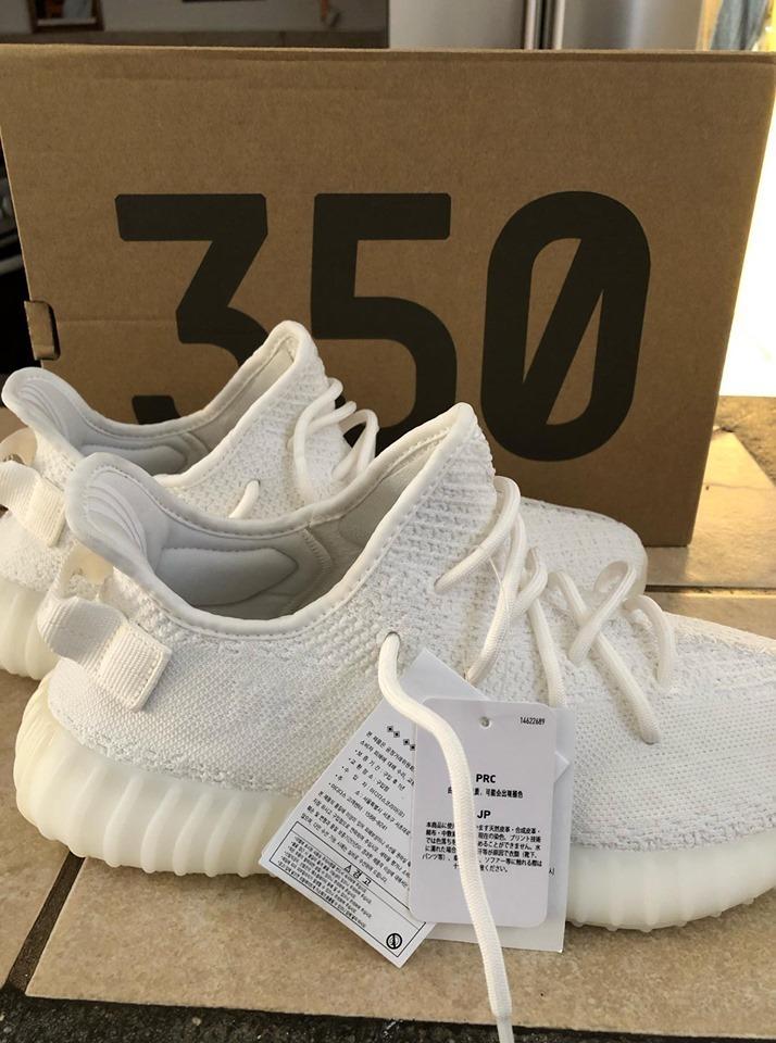 Adidas Yeezy 350 Boost V2 Cream Triple White