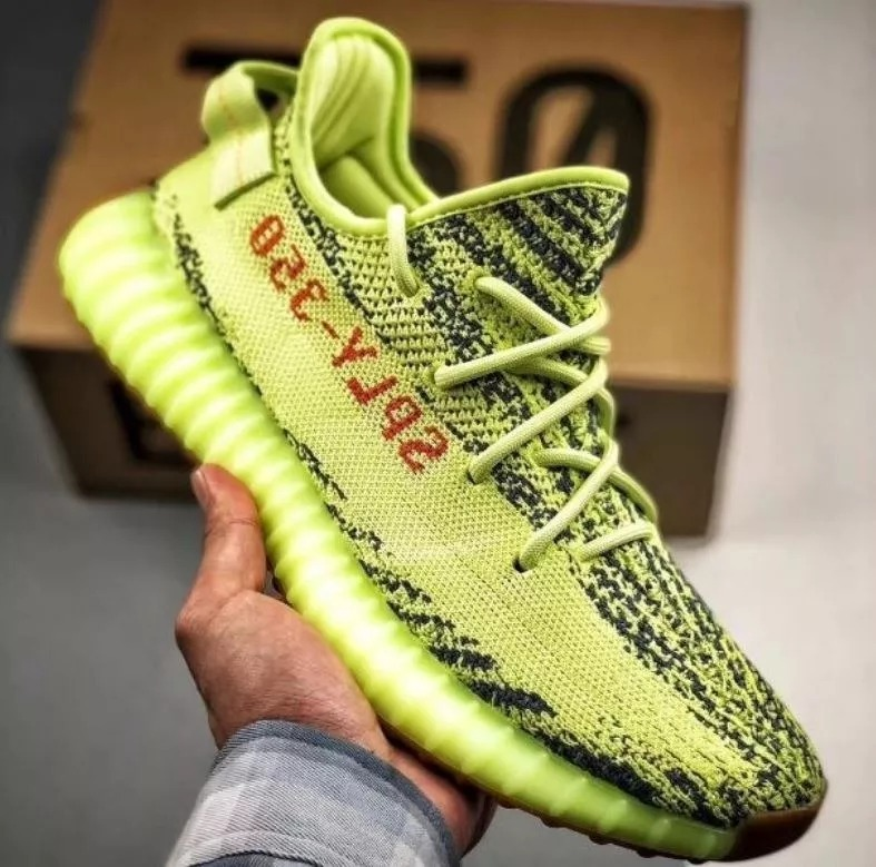 df959f8606c11 adidas Yeezy Boost 350 V2-semi Frozen Yellow - R  748