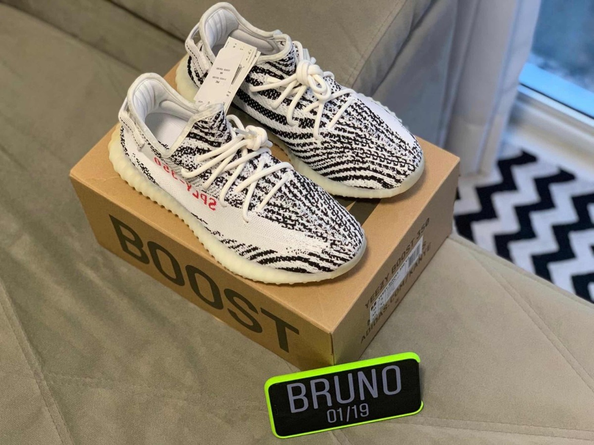 adidas Yeezy Boost 350 V2 Zebra Tam 41 Br