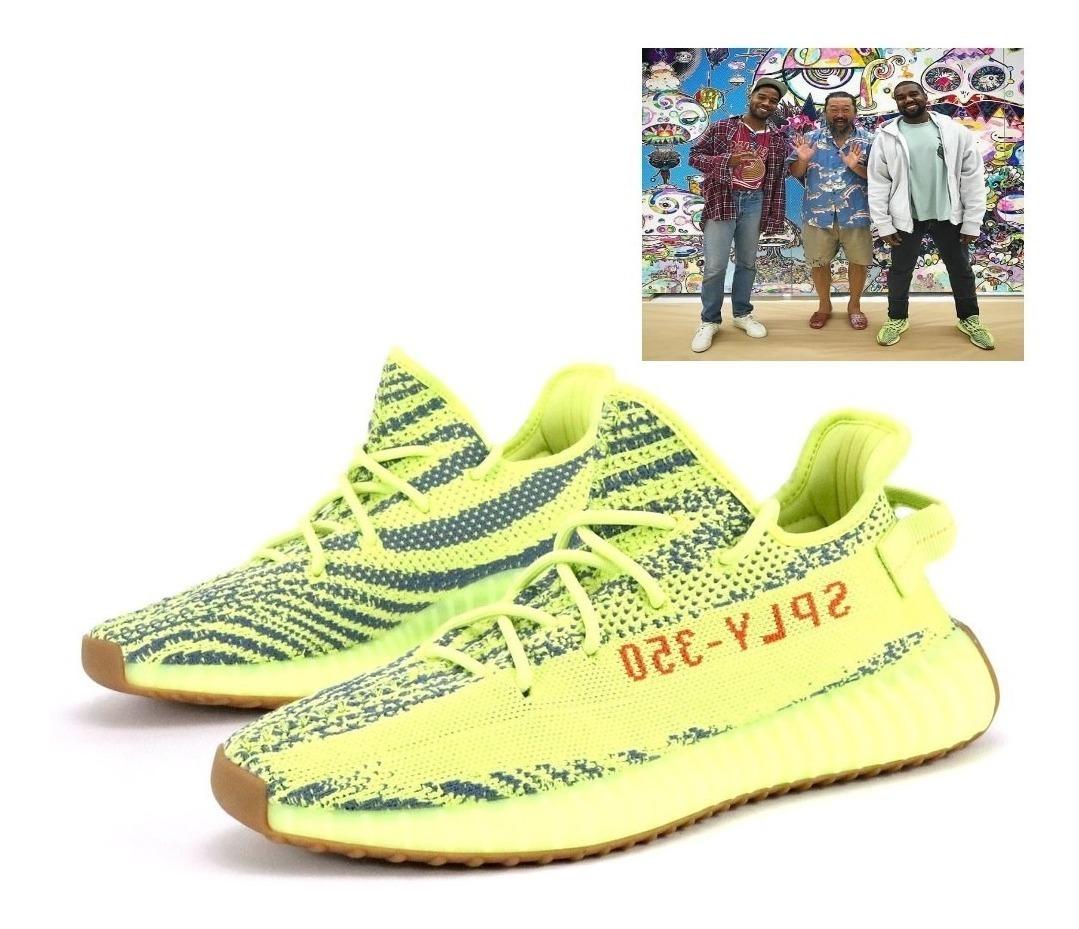 new arrival c9ef5 55425 adidas Yellow Zebra Yeezy 350 V2 Boost Og T:27.5cm Único!!!