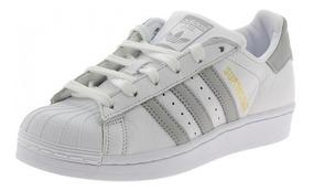 zapatillas adidas mujer superstar blancas