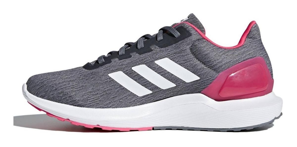 Zapatillas Running Mujer Adidas Cosmic 2.0 GrisRosada