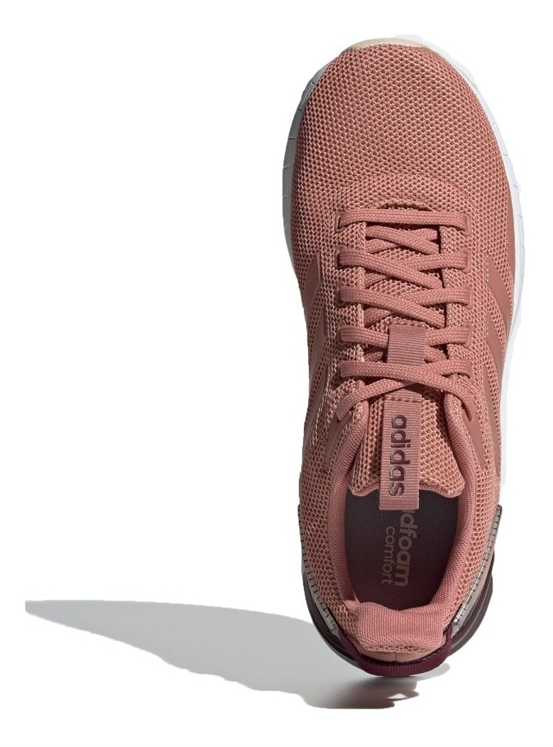 Ride Adidas Zapatillas Rosa Questar Mujer Running Blanco