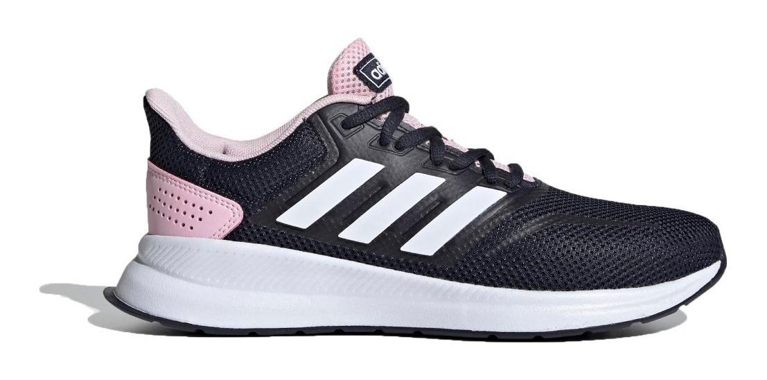 adidas Zapatillas Running Mujer Run Falcon Marino - Rosa
